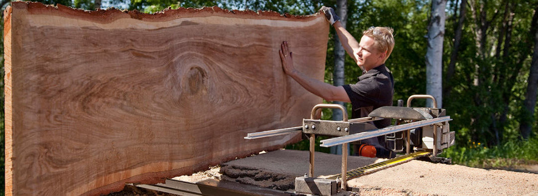 Milling with a Chainsaw