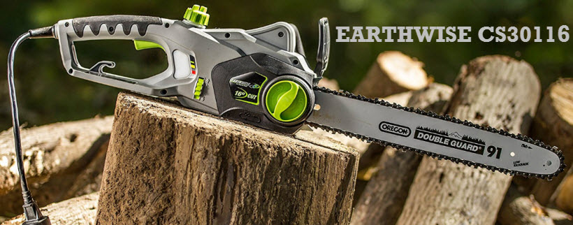 Earthwise CS30116 electric chainsaw review