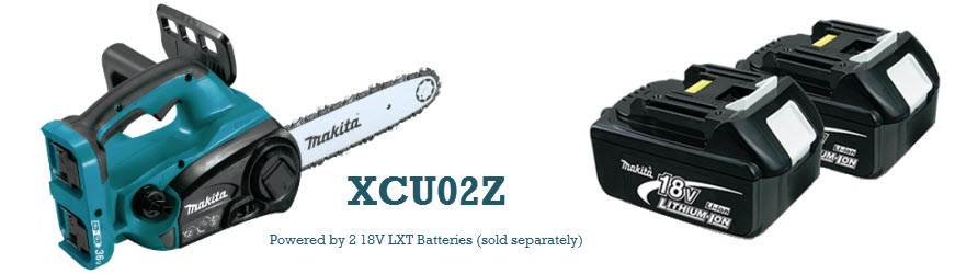 Makita XCU02Z battery chainsaw