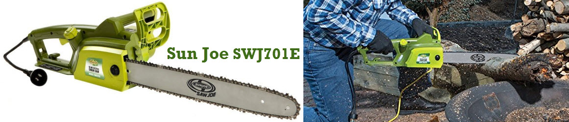 Sun Joe SWJ701E - corded electric chainsaw