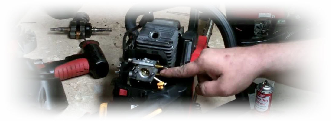 chainsaw carburetor adjustment