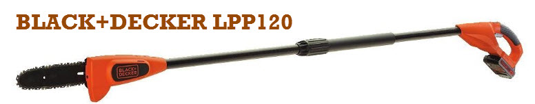 BLACK+DECKER LPP120 pole saw