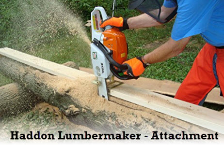 Haddon Lumbermaker chainsaw mill attachment
