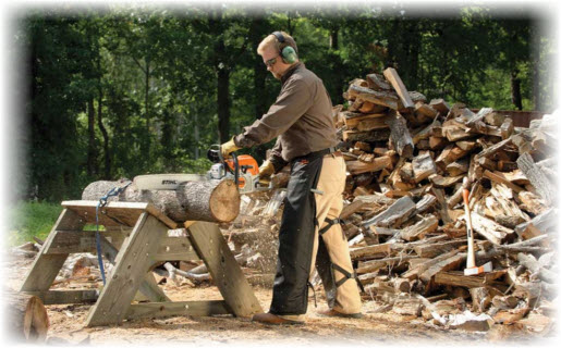 How To Cut Logs with a Chainsaw: The Right Way