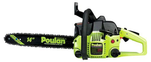 poulan 14 inch gas chainsaw