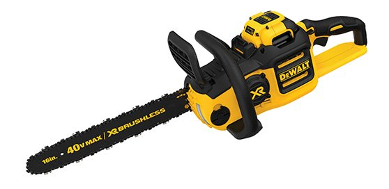 "DEWALT 16"" DCCS690H1 40V 6AH Lithium Ion XR Brushless Chainsaw"