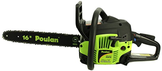 Poulan PP3416 16 Inch Gas Powered Chainsaw