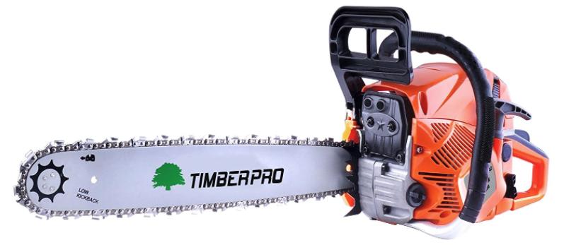 TIMBERPRO 62cc 20 inch Petrol Chainsaw