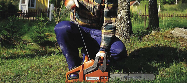 starting a chainsaw considerations