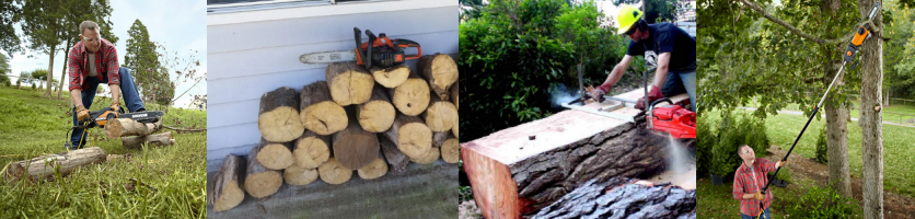 what a chainsaw can do at home