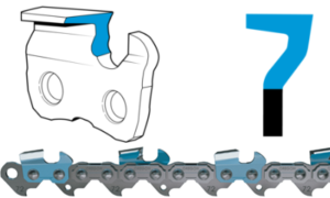 square ground chainsaw chain